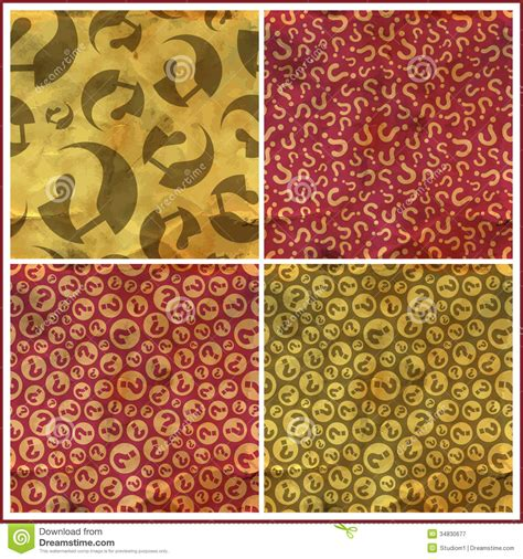 image pattern questions questions seamless pattern stock vector image 34830677