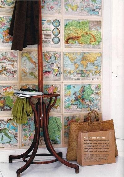 Wallpaper Interior 4845 by 123 Best Decorate With Maps Interiors Images On