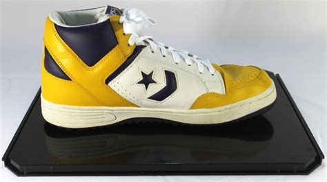 retro converse basketball shoes sports memorabilia auction pristine auction