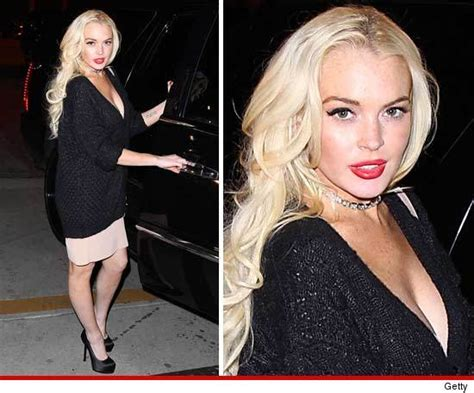 The Partying Never Stops For Lohan by Lindsay Lohan Partying Before Tmz