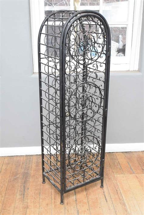 decorative wine rack a decorative metal wine rack