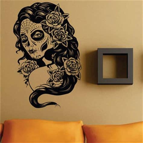 day of the dead bedroom ideas shop sugar skull wall decor on wanelo