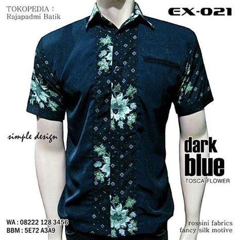 Baju Koko Batik Kombinasi batik kombinasi batik lebaran 2016 batik koko seragam