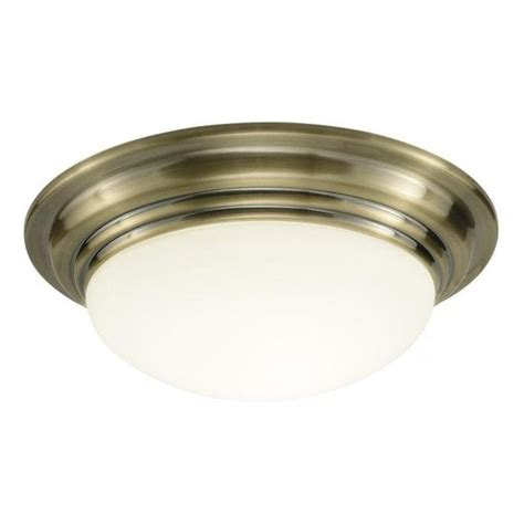 Flush Fitting Ceiling Lights Uk Traditional Bathroom Barclay Antiqued Brass Flush Fitting Glass Light