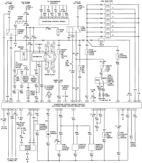 lighting wiring diagram 1993 ford bronco wiring free