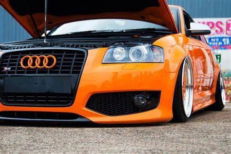 Audi S3 Orange by Audi S3 On Wheels Orange Looks Audi A3 S3