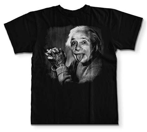 Albert Einstein Tshirt t shirt einstein ziloo fr