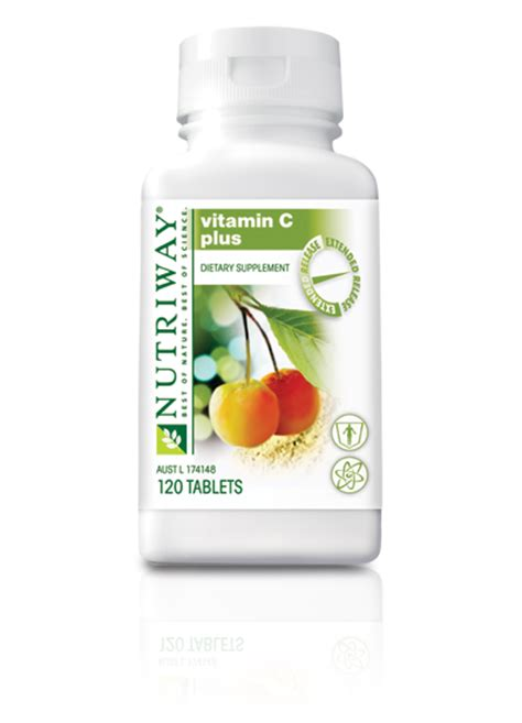 Vitamin X Amway Nutriway 174 Vitamin C Plus Extended Release 120 Tablets