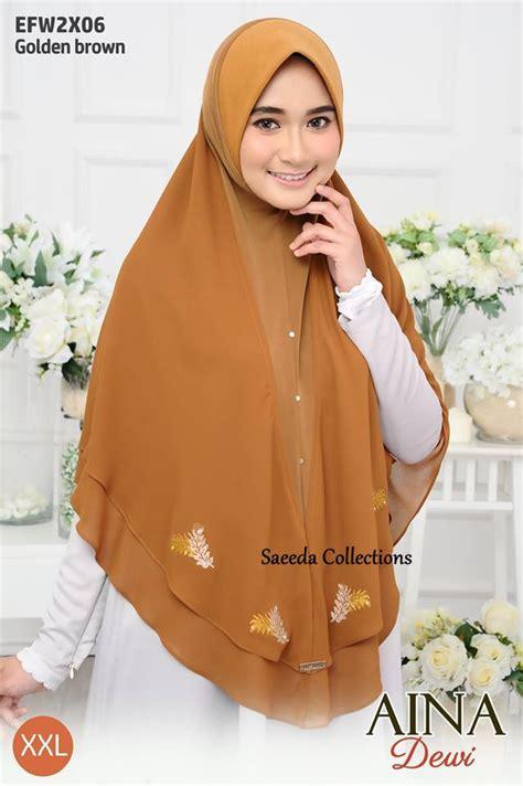 Dewi Layer tudung layer aina dewi saiz saeeda collections