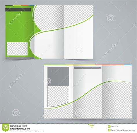 adobe illustrator tri fold brochure template all