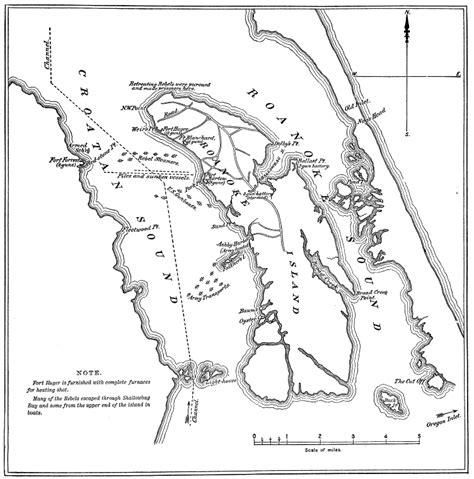 roanoke carolina map war on the outer banks carolina digital history