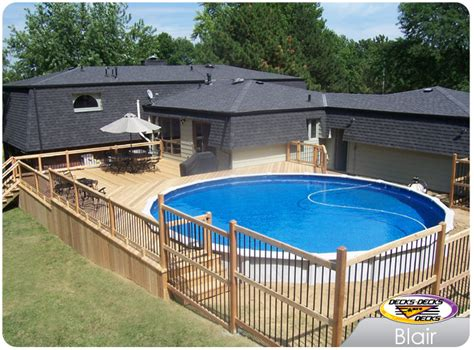pool decks pool spa decks photo gallery decks decks and more decks