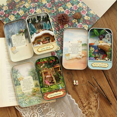 miniaturas e dollhouse buy diy miniature dollhouse forest rhapsody snow