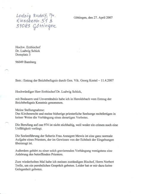 Anschreiben Adrebe Herr Oder Herrn Aufkl 228 Rung Des Bereichsverbotes