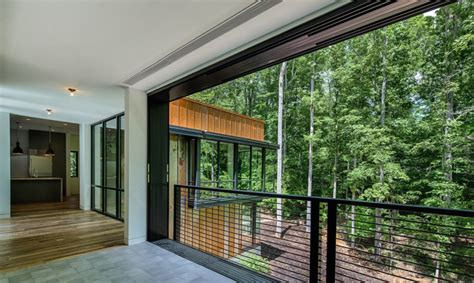 cawah homes modern green blending homes design by gayuh weathered steel and reclaimed materials blend a modern