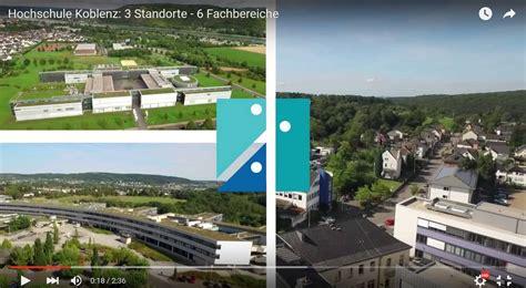 Bewerbung Hs Koblenz Studieren An Der Hochschule Koblenz
