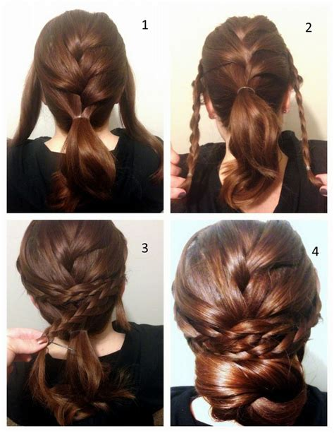 hairstyles braided tutorial 19 fabulous braided updo hairstyles with tutorials
