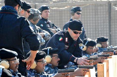 dati allievo maresciallo esercito i carabinieri addestrano la polizia libica analisi difesa