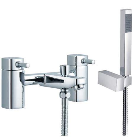 shower attachment for bath taps chrome square bathroom bath mixer shower taps with shower attachment 4