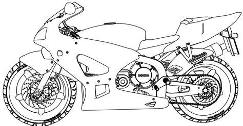 honda motorcycle coloring pages honda motorcycle coloring page wecoloringpage