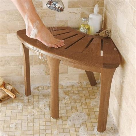 Shower Foot Stool by Foot Stool Bath