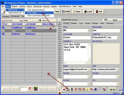 printing address labels outlook address label printer
