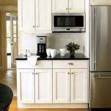 kitchen microwave ideas microwave ideas on black subway tiles