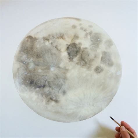 watercolor moon tutorial a day in the life of stella maria baer design sponge