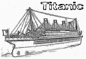 titanic coloring pages free titanic 2 coloring pages