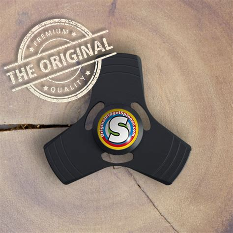 Fidget Spinner Spiner Original Dbs 05 Metal Aluminium black aluminium fidget trispinner mini the original