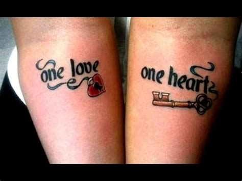 couple matching tattoos tumblr couples with awesome matching tattoos awesome
