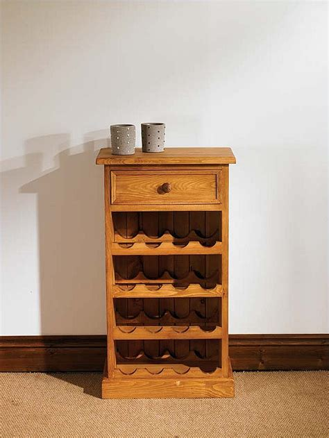 Pine Wine Rack Cabinet by Wooden Wine Cabinets Solid Wood Wine Racks Oak Furniture