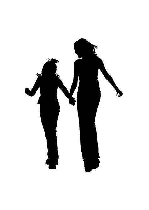 Dibujo para colorear madre con hija - Img 26156