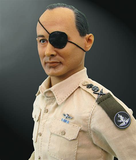 Home Decor Closeouts by Chief Of Staff Moshe Dayan 1 6 Figure Military Issue