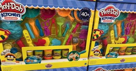 Play Doh Kitchen Creations Chef Set by Play Doh Kitchen Creations Set Just 19 99 Shipped
