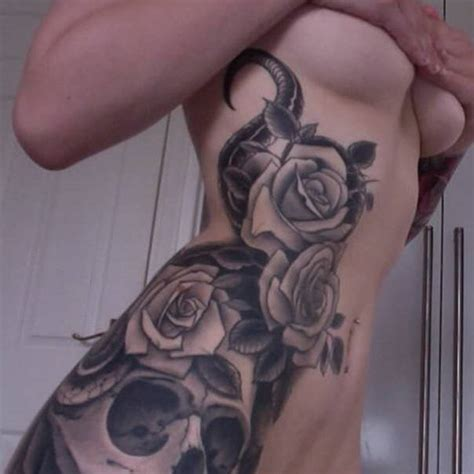 skull rose and gun tattoos gettattoosideas skull tattoos skull