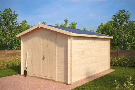 Large Wooden Sheds Large Garden Storage Shed A 12m 178 40mm 3 2 X 4 4 M