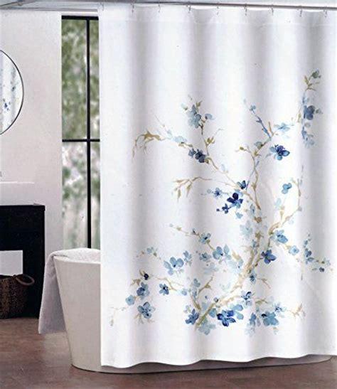 light blue fabric shower curtain fabric shower curtains dark and light and light blue on