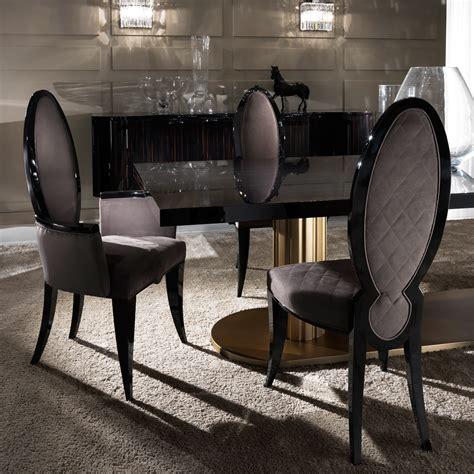 luxury dining and chairs contemporary italian oval designer dining
