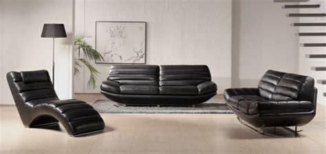 Black Leather Chairs For Sale Design Ideas 32 Id 233 Es Canap 233 Moderne Pour Le Salon Archzine Fr