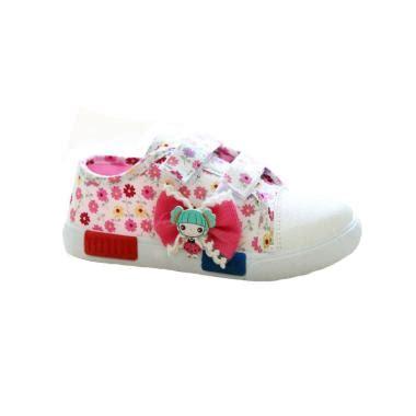 Faster Sepatu Sneakers Wanita 1603 09 L Blue jual produk sepatu kanvas wanita harga promo diskon blibli
