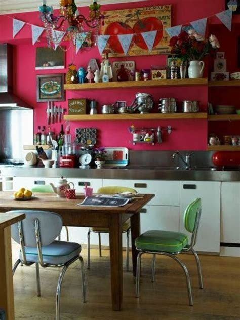 colorful kitchen design 49 colorful boho chic kitchen designs digsdigs
