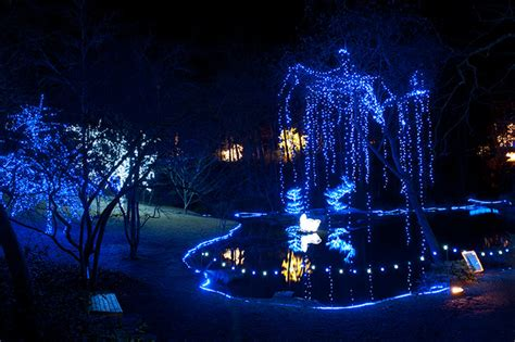 Garvan Woodland Gardens Encyclopedia Of Arkansas Garvan Gardens Lights