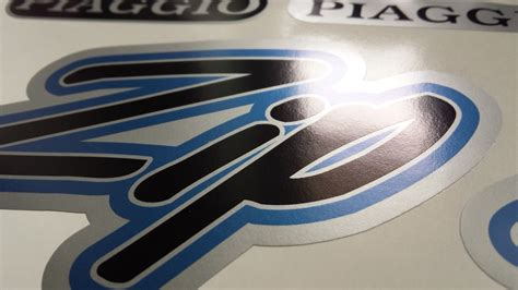 Rautan Stationary Set 3304 Pony Vespa sticker decoration set piaggio palzon
