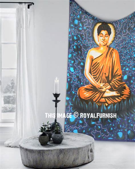 100 monochrome home decor 2015 wall decal buddha twin teal multi buddhist batik tapestry wall hanging