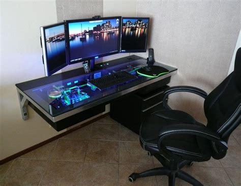 gaming station computer desk best 25 gaming station computer desk ideas on