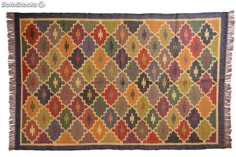 alfombras kelim alfombra kilim en yute y lana