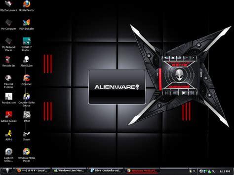 themes of computer desktop my desktop theme fromalienware by talontheblackdragon on
