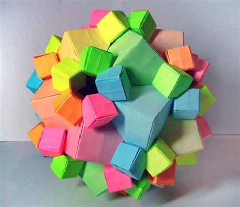 Cool Modular Origami - 11 best columbus cube origami images on cube