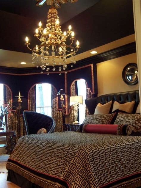 Black And Gold Bedroom Design Ideas Black And Gold Master Bedroom Dollhouse